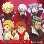 Mobile Suit Gundam Age - Character Song Album Vol.3 : Kio Age OST