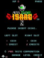 Metal Soldier Isaac II [ARCADE GAMERIP]